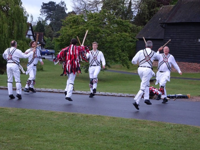 Morris Dancers at dawn on 1st May 2017 - taken by Fiona Brindley