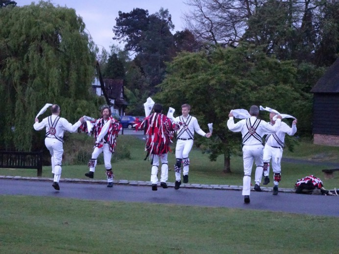 Morris Dancers at Dawn - 2017 taken by Fiona Brindley